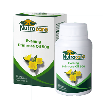 Nutracare Evening Primrose Oil 500