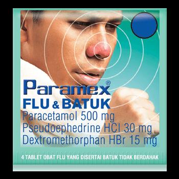 PARAMEX Flu & Batuk