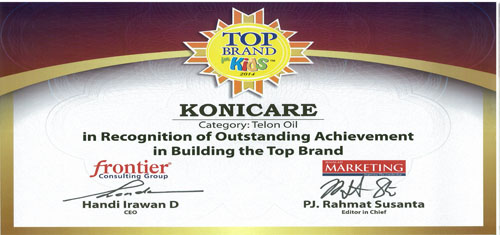 Konicare Raih Penghargaan Top Brand For Kids