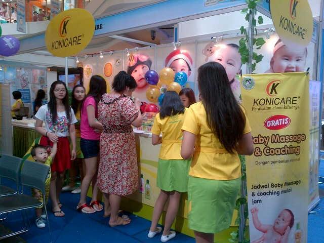 Konicare's Booth at World of Wonderland Festival