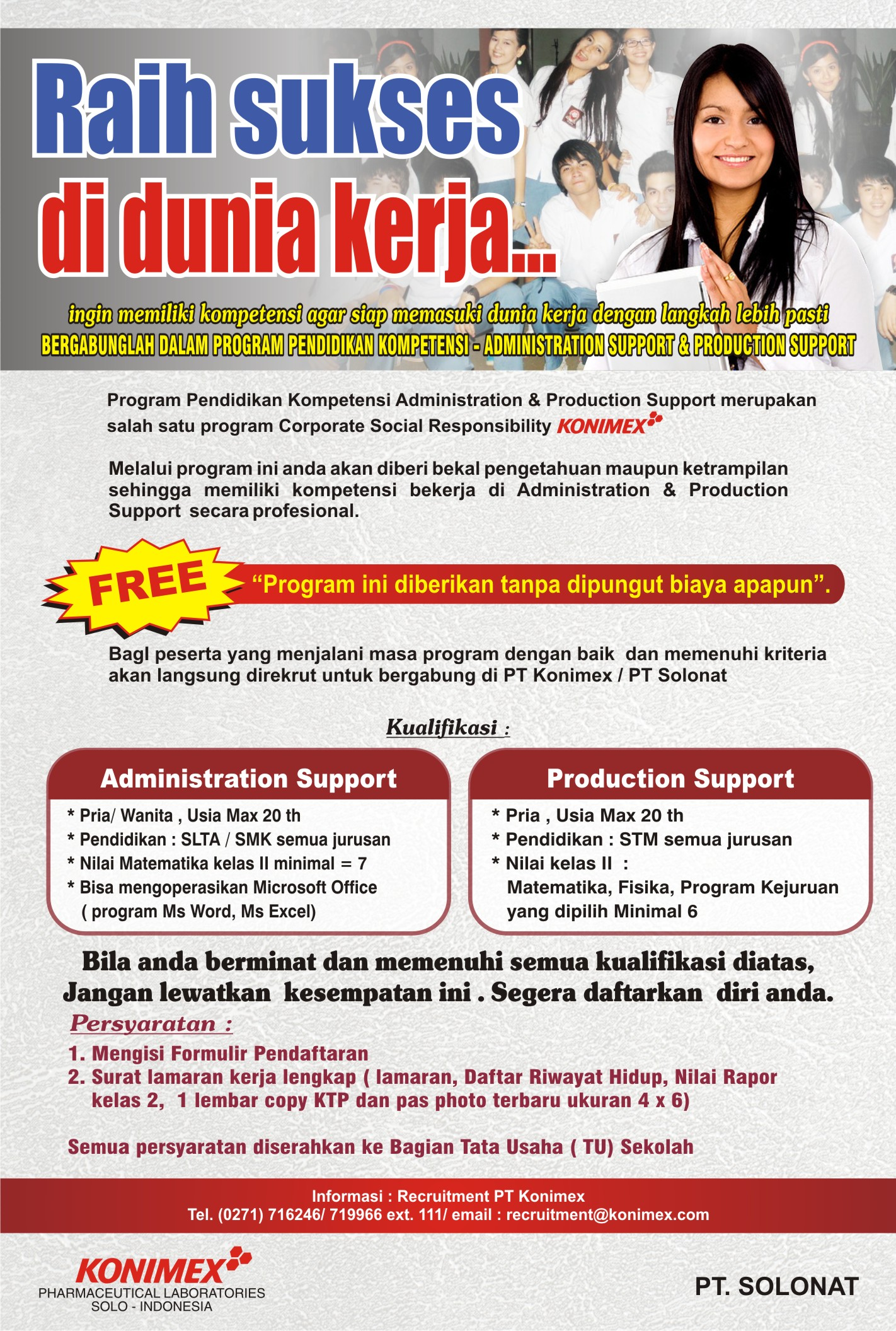 CSR Administration Support & Production Support