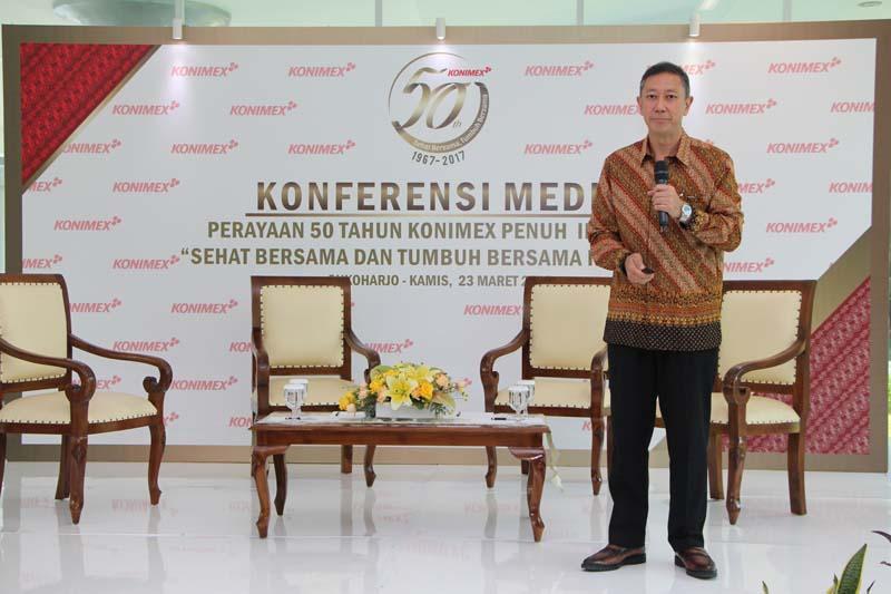 Rayakan HUT ke-50, PT Konimex Ajak Masyarakat Indonesia Untuk Sehat dan Tumbuh Bersama
