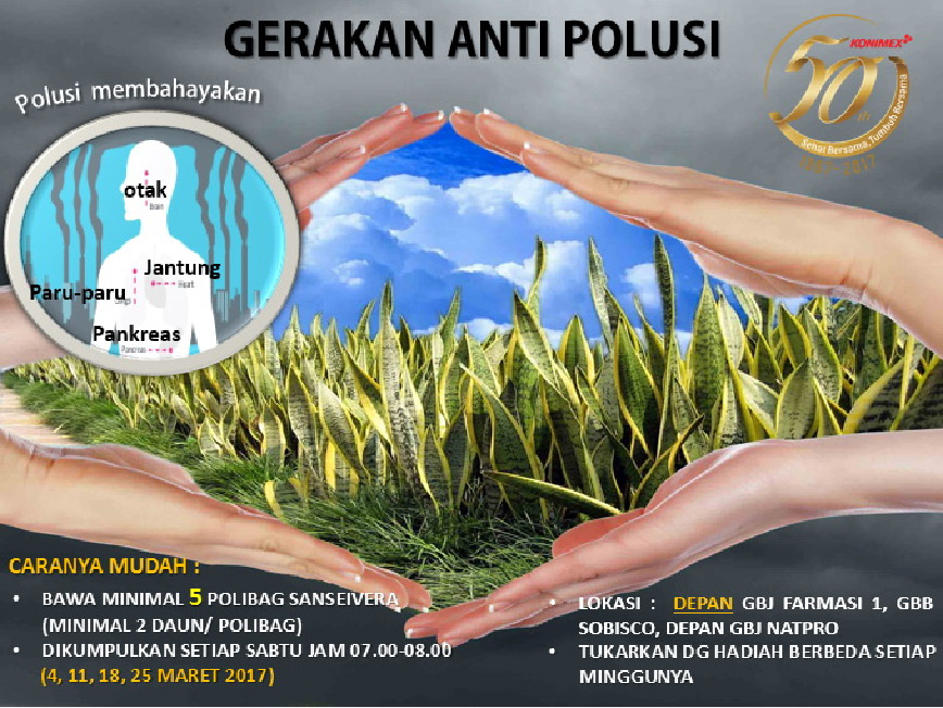 Gerakan Anti Polusi & Save Water Save Life