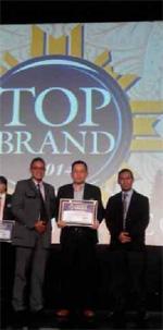 Top Brand Award 2014 - Paramex