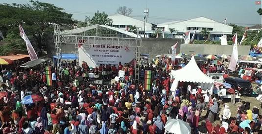 Pesta Rakyat HUT 50Th PT. Konimex